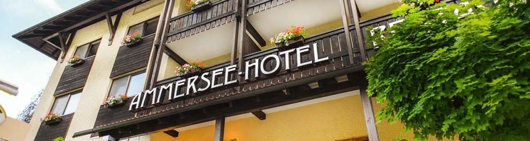 Ammersee Hotel Hauptseite Header