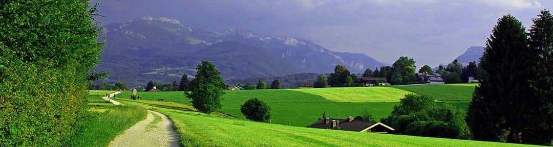 meditative Wanderungen im Fünfseenland Chiemgau und in Bayern
