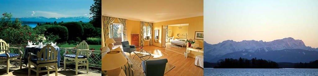 Hotelzimmer Golfhotel Kaiserin Elisabeth, Starnberger See, Fünfseenland, Bayern