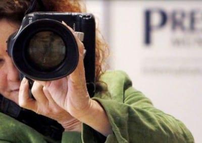 Foto: internationaler Presseclub München, Titelfoto Birgit M. Widmann, Journalistin, Fotojournalist, Foto Copyright Robert Auerbacher