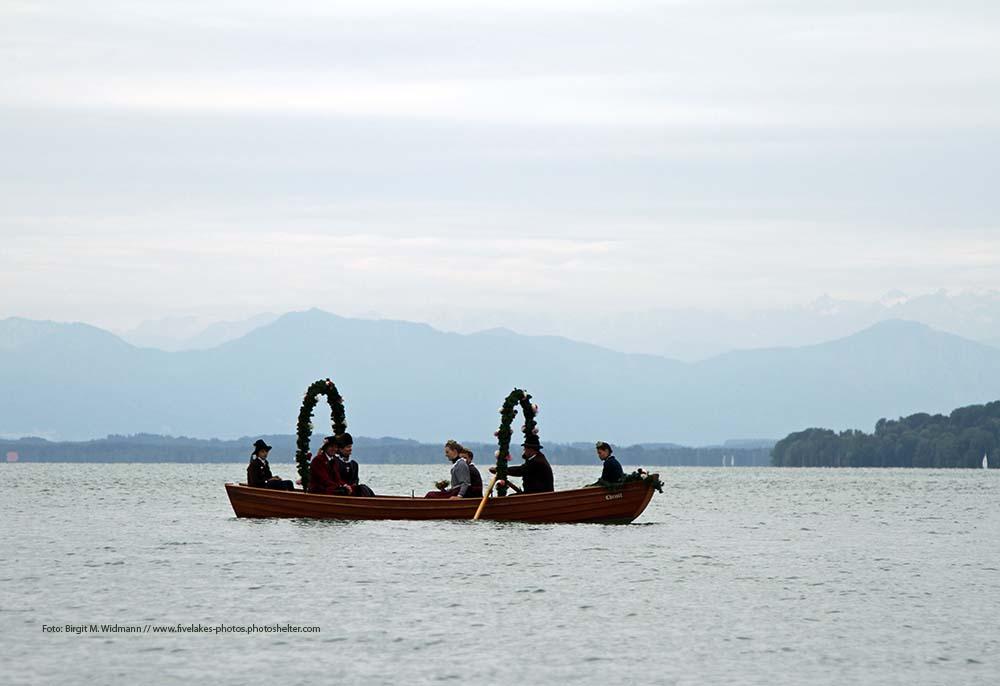 Fischerhochzeit Starnberger Lake Europe