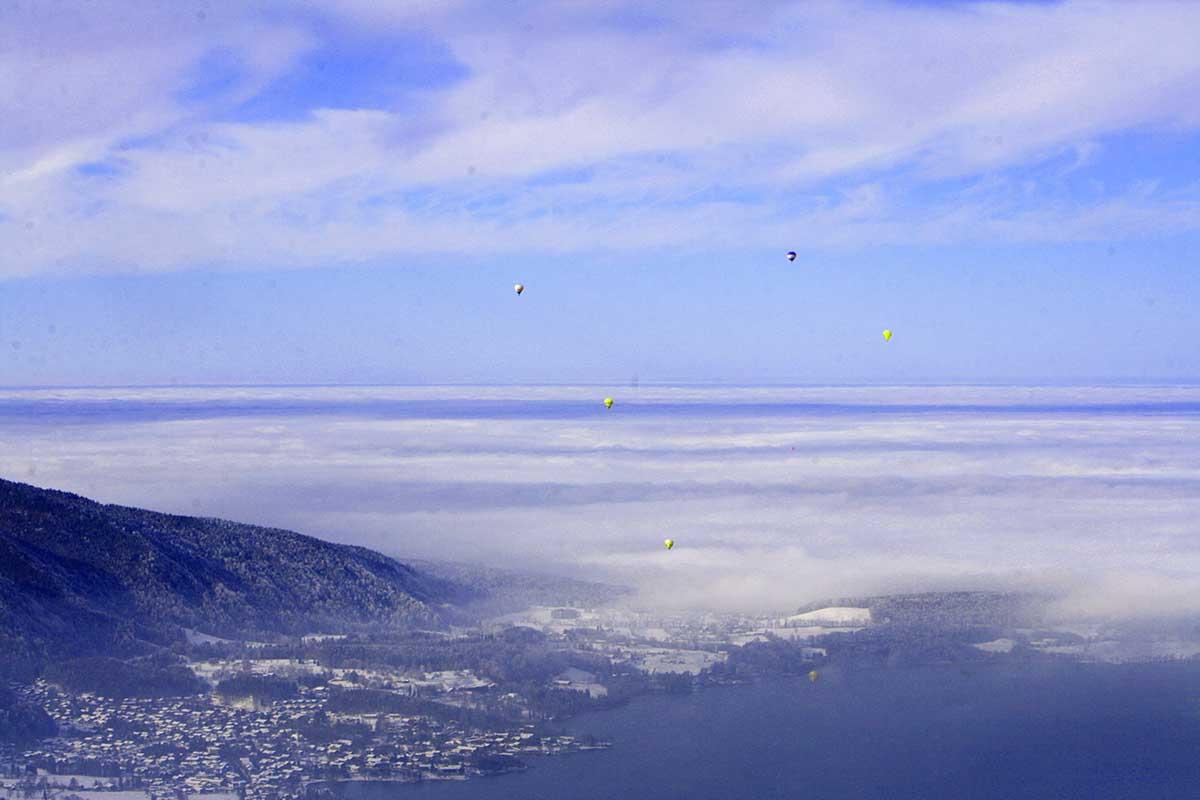 Tegernsee - Wallberg - Winter Montgolfiade