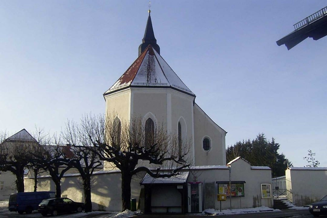 Kreuzwegprozession zur Kirche Aufkirchen Starnberger See