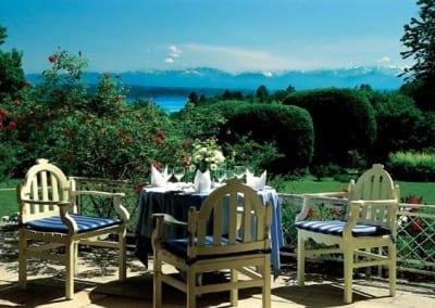 Restaurant im Golfhotel Kaiserin Elisabeth Feldafing, Starnberger See