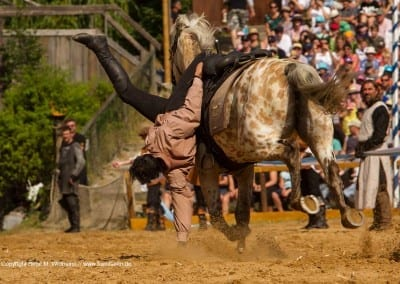 Stuntshow auf den Ritterspielen Kaltenberg