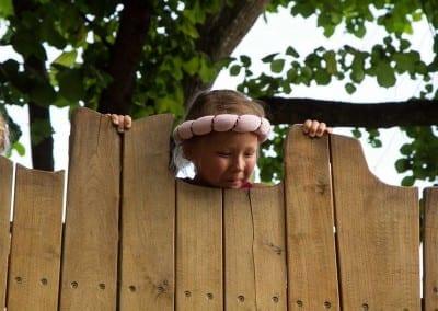 Kind auf dem Kaltenberger Ritterturnier