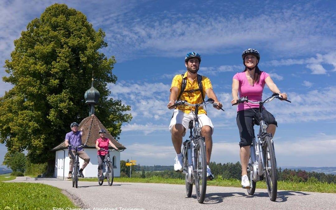 Radfahren im Chiemgau