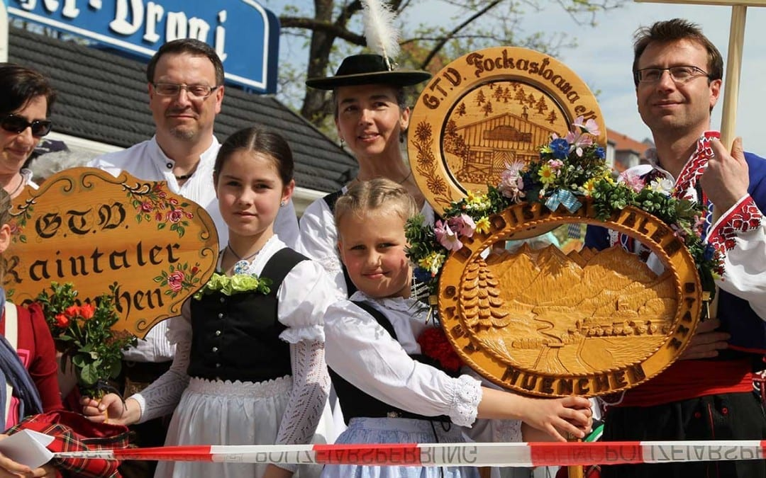 Die Kirchweihdult in München
