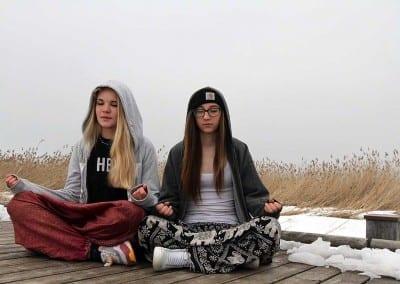 meditative Wanderungen am Freitag