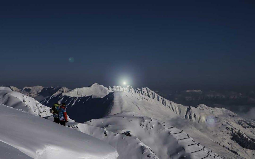 Sonnenaufgang Zillertal