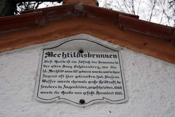 Mechthildisbrünnlein - Kraftort in Diessen am Ammersee im Fünfseenland Bayern