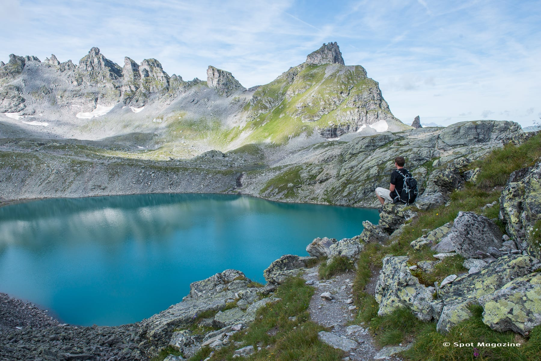 Fünf Seen im Sarganserland Schweiz