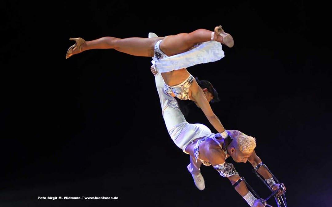 Circus Krone trumpft mit beeindruckendem Programm