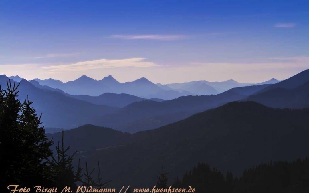 Das Hörnle in den Ammergauer Alpen