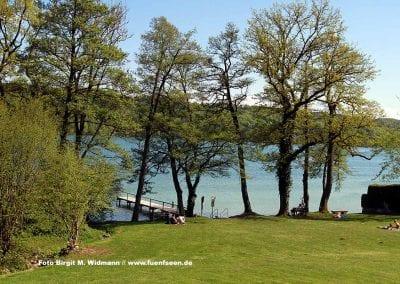 Strandbad Pilsensee - traumhafter Badeplatz im Fünfseenland