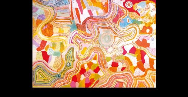 "Finissage ""Ngaanyatjarra Lands. Aboriginal Art aus Westaustralien"""
