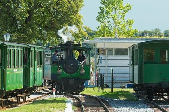 Erlebnis Chiemsee Bahn