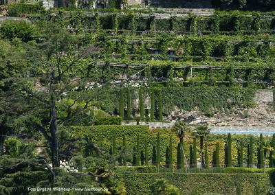 Villengärten am Comer See