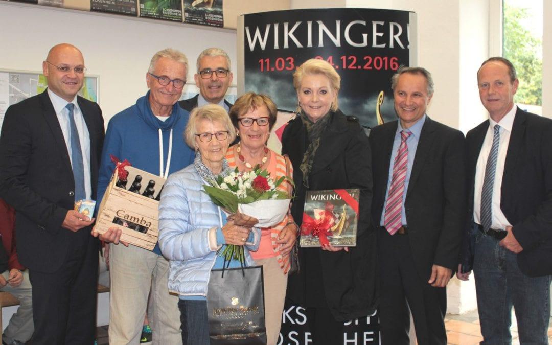 """Bereits 100.000 Besucher in der Ausstellung """"WIKINGER!"""" in Rosenheim"""