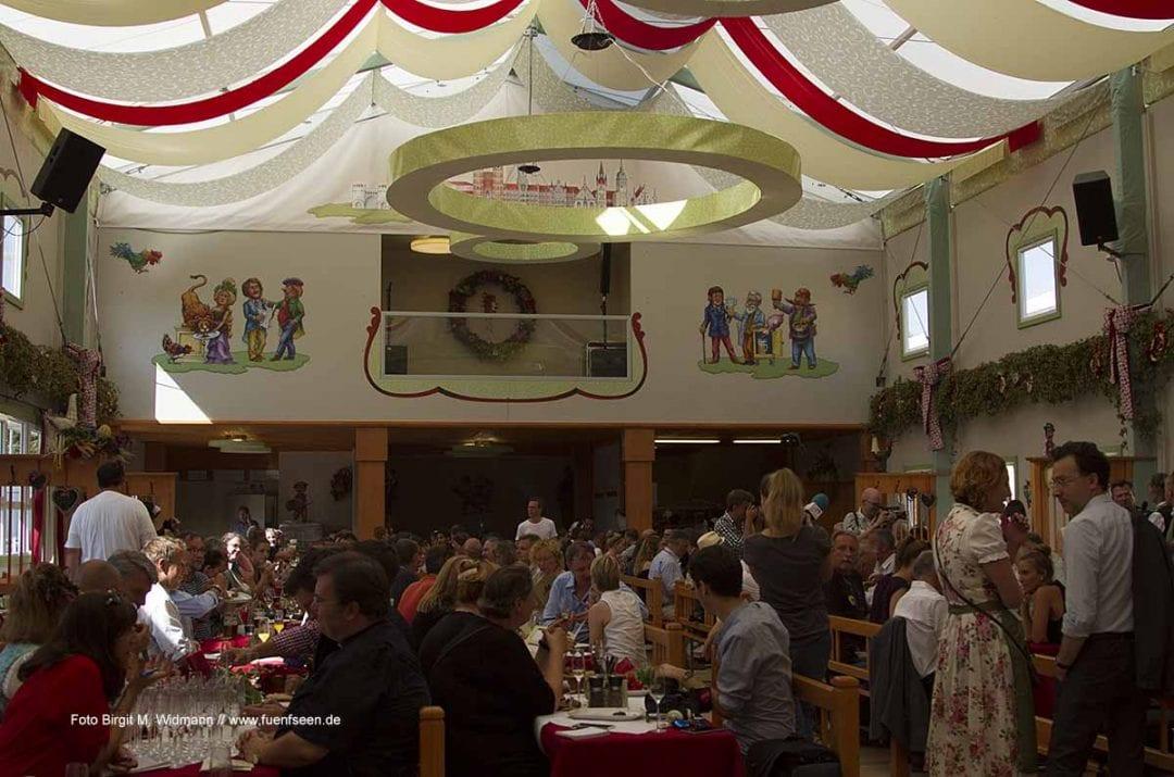 Poschners Zelt ist wieder da auf dem #oktoberfest