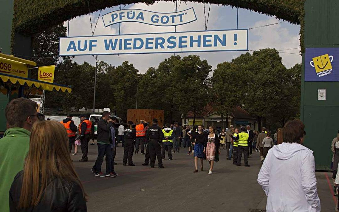Sicherheitskonzept Oktoberfest