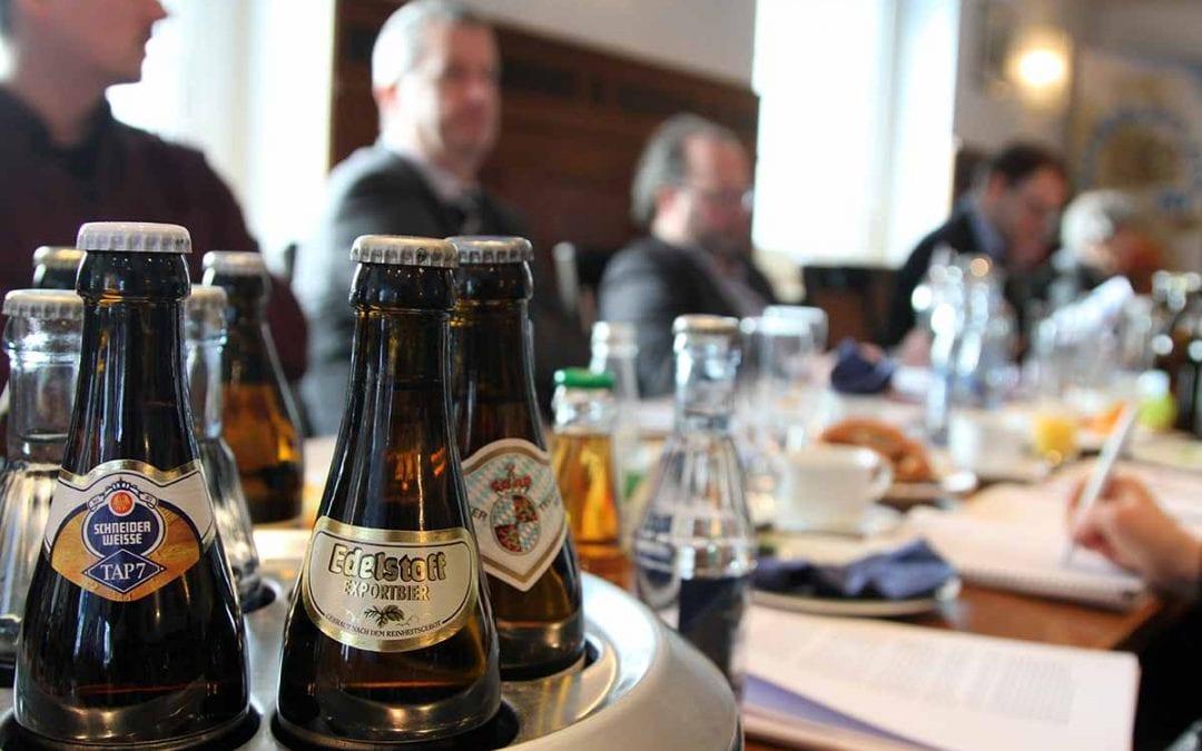 Bier und Bierkönigin