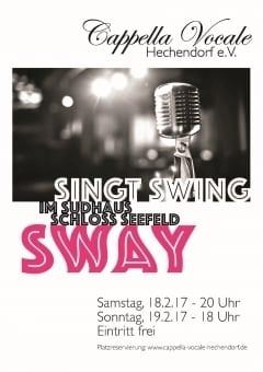 Cappella Vocale swingt im Sudhaus