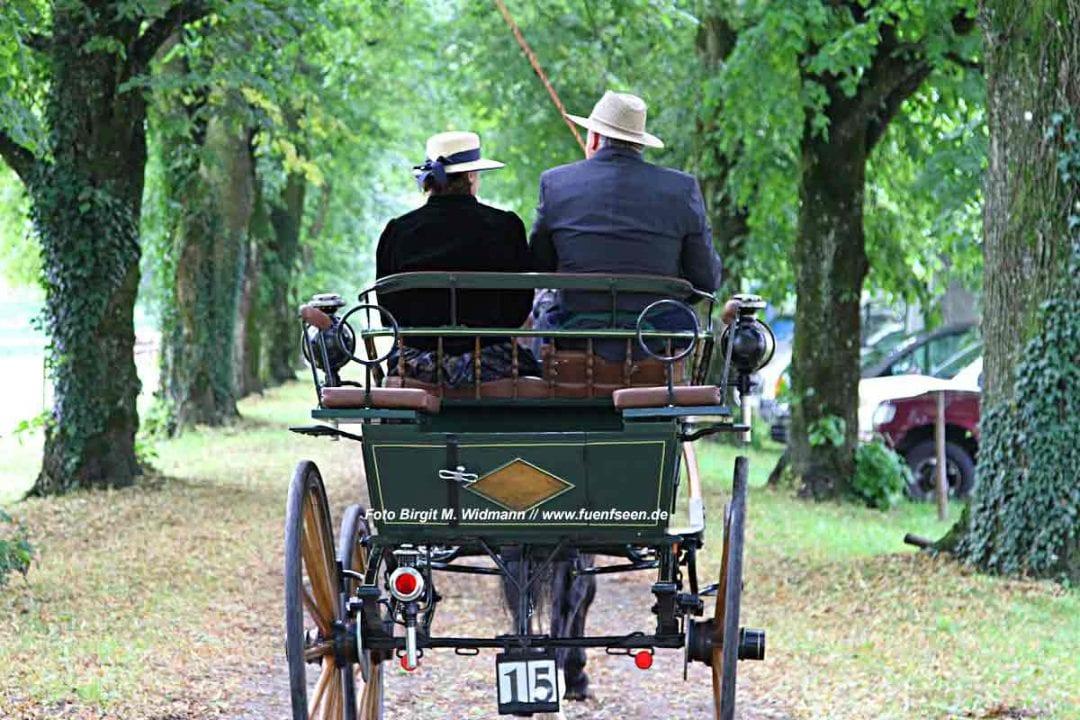 mit der Kutsche durch Oberbayern