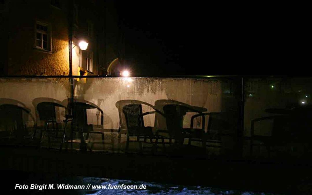 Landsberg am Lech bei Nacht