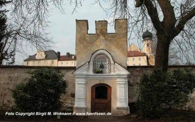 Kapelle in Bernried zur liab woanad Frau