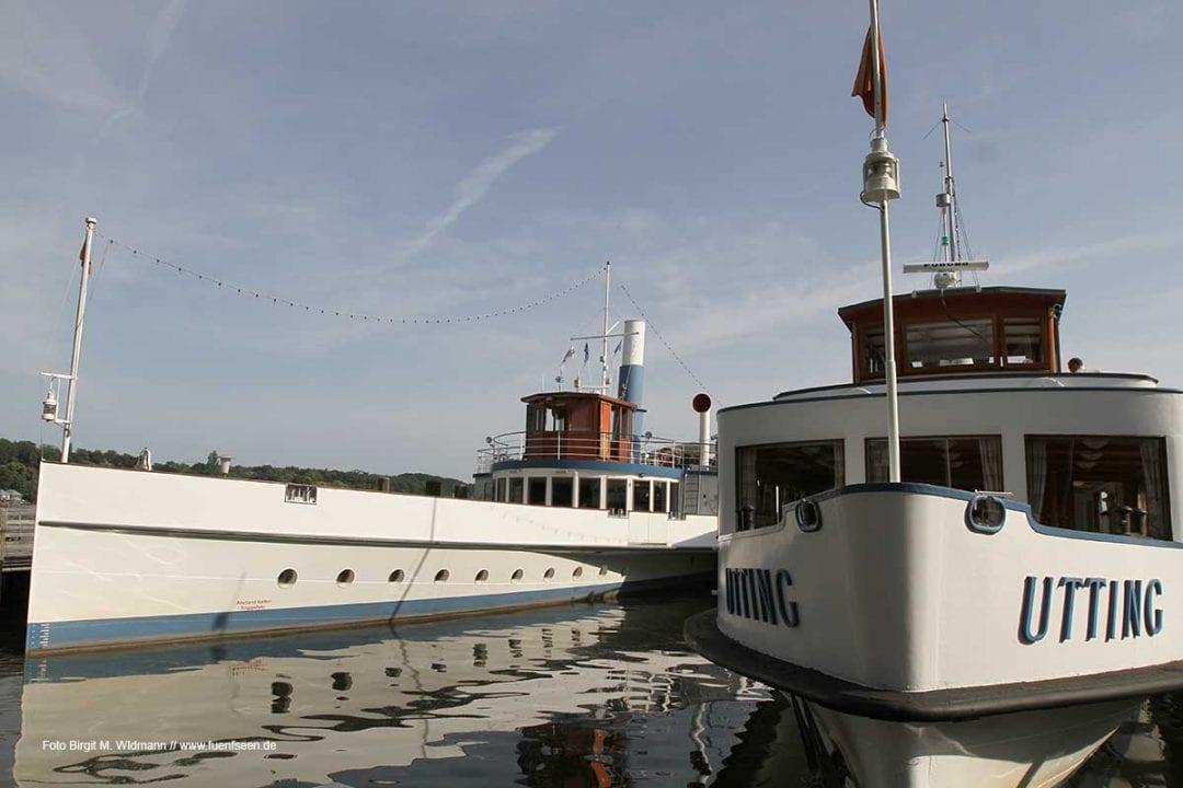 Die Seenschifffahrt startet im April zu Ostern wieder auf den vier bayerischen Seen