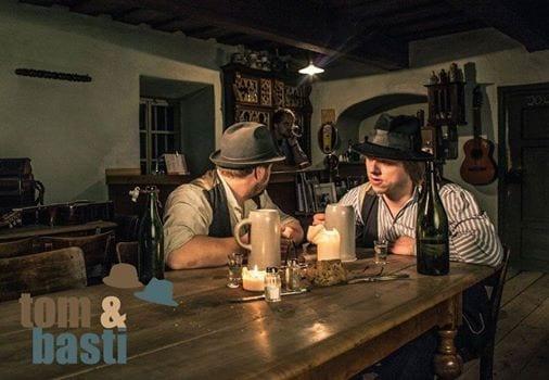 Echte bayrische Wirtshausmusik: Tom & Basti