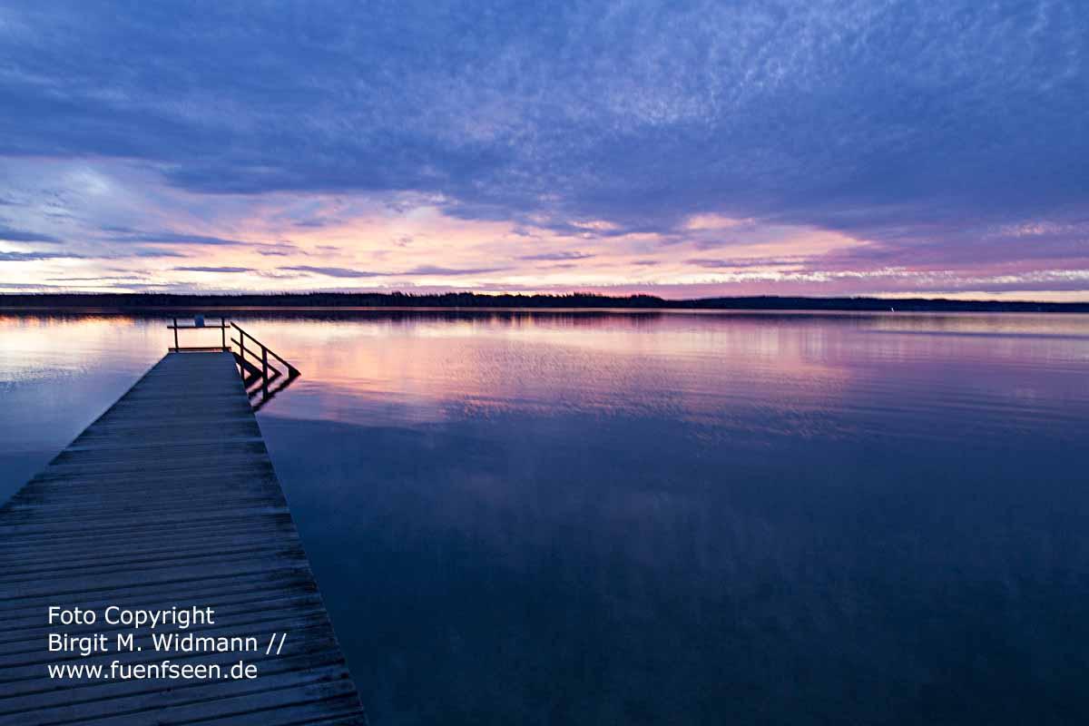 so schön ist der Starnberger See bei Nacht ~ fuenfseen.de %