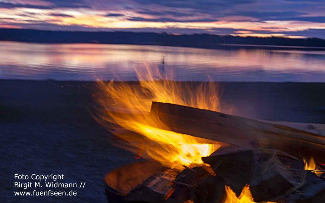 so schön ist der Starnberger See bei Nacht
