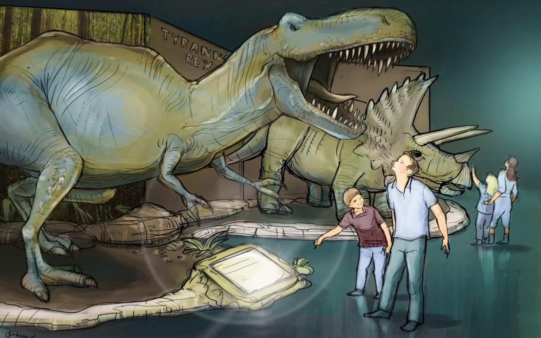 Dino World im Olympiapark