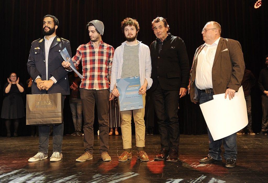 Auxane Trio mit dem dritten Platz beim IG Jazz Nachwuchsfestival