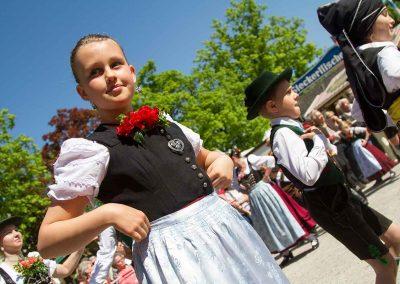 Eröffnungstanz Maidult in München am 28.04.2018