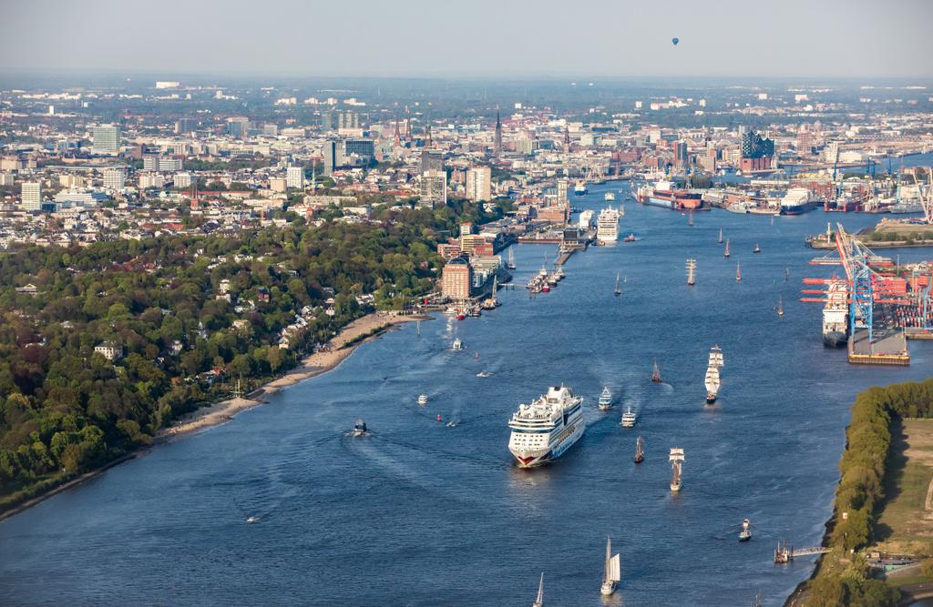 Kreuzfahrtjahr 2018 Hamburg Hafengeburtstag und Festivals