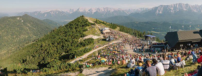 Bergfestival auf dem Wank