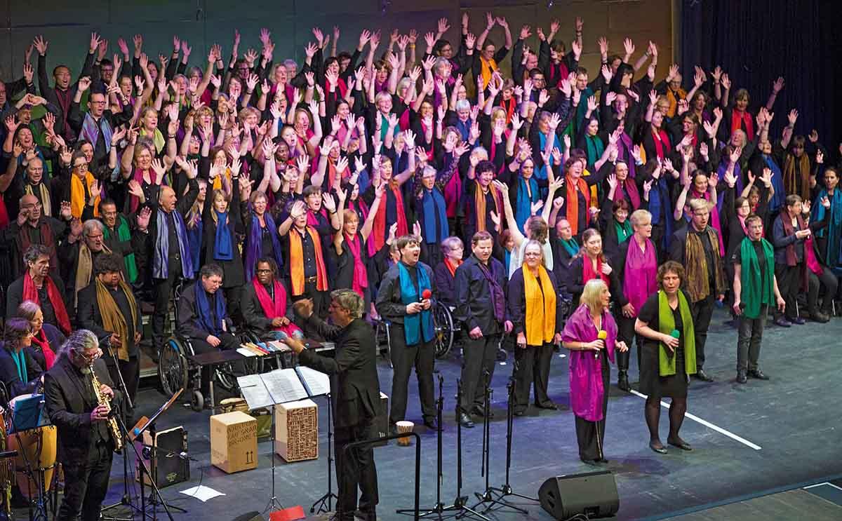 Oh Happy Day – Kids // Der Inklusive Gospelchor // Konzert // Sonntag, 18.11.2018, 19:30 Uhr, Stadtsaal, Veranstaltungsforum Fürstenfeld