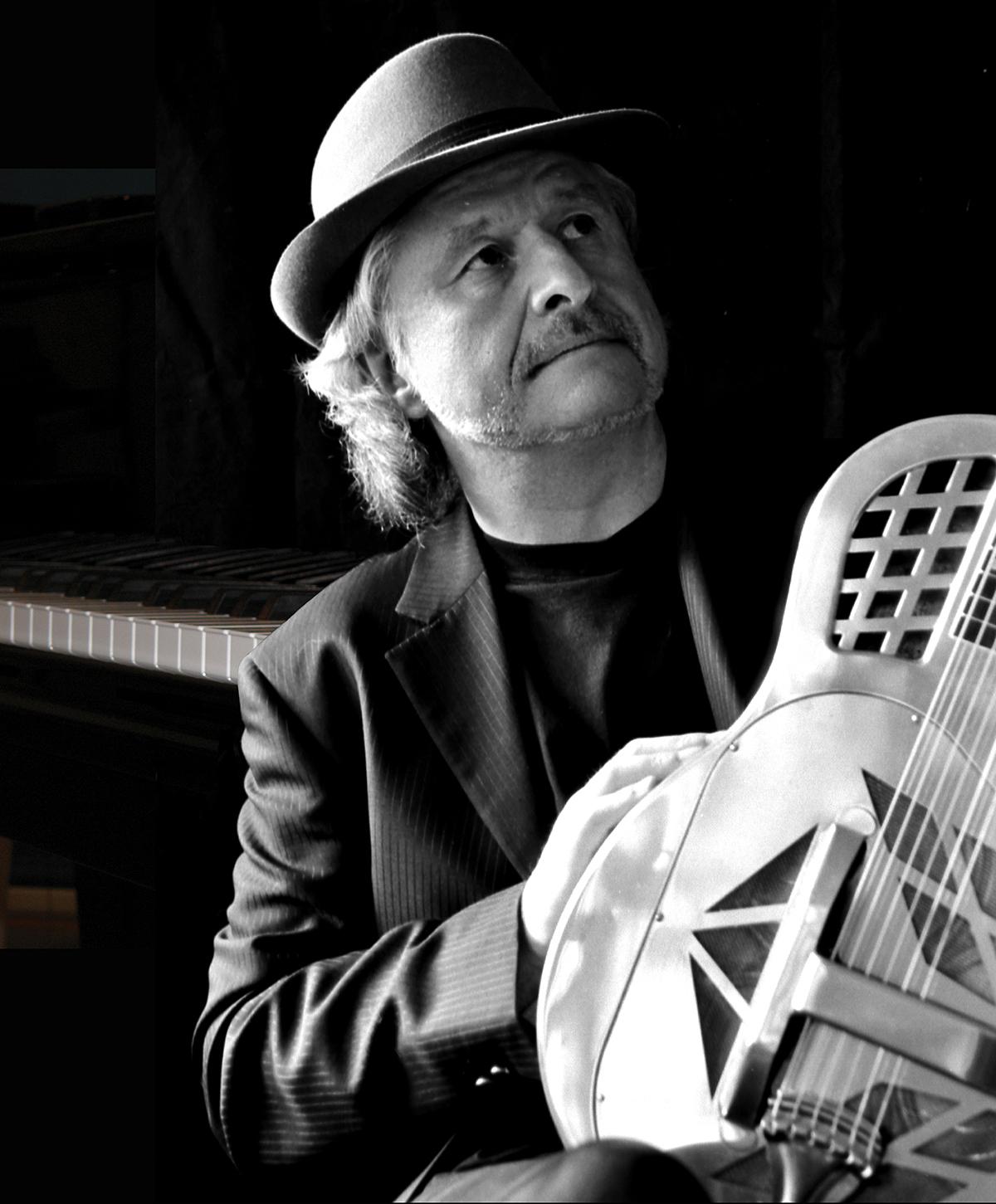 der gebürtige Landshuter Edwin Kimmler kann wohl am ehesten als kompromissloser Live-Musiker beschrieben werden.