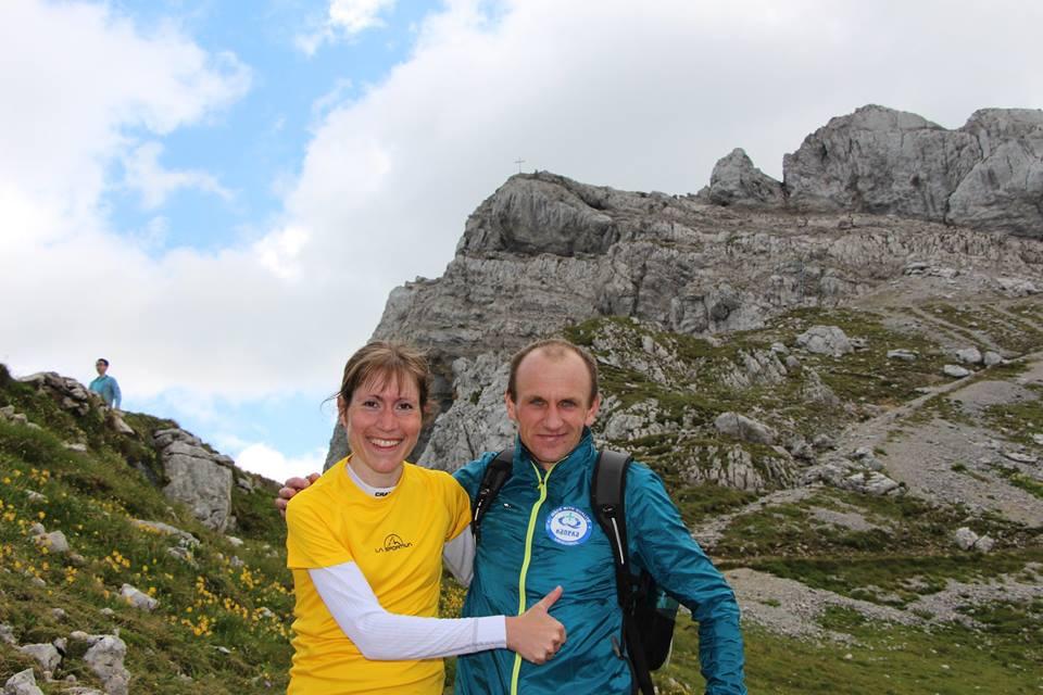 Die Sieger des Karwendel-Berglaufs 2018 Melanie Noll und Andrzej Dlugosz. Wir Gratulieren recht herzlich!