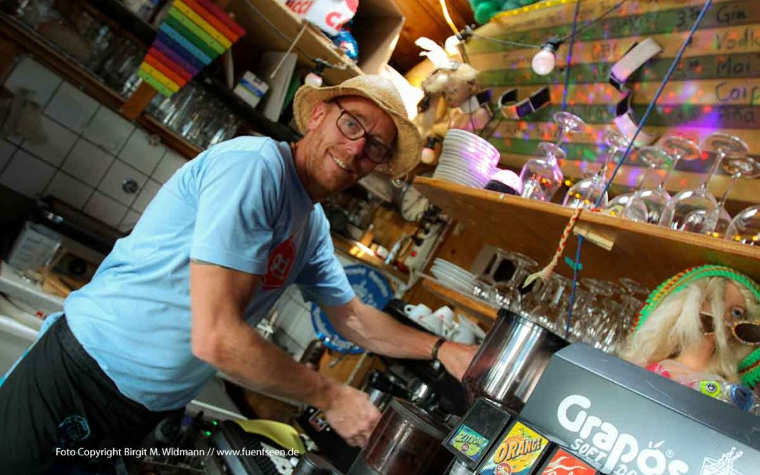 Bayerische Brandung – das bunte Kiosk Herrsching Strandpromenade