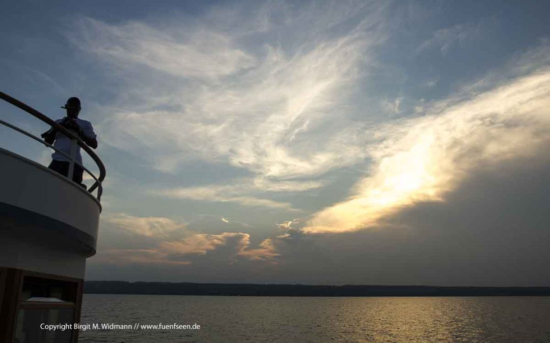 Schifffahrt auf dem Ammersee – mit dem Dampfer um den See