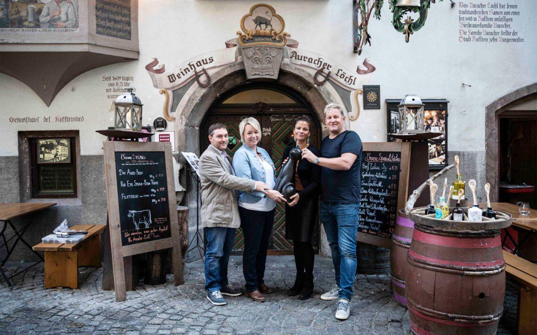 Traditionsbetrieb Auracher Löchl mit neuen Eigentümern