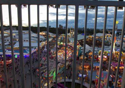 Hochhaus Oktoberfest Skydrive