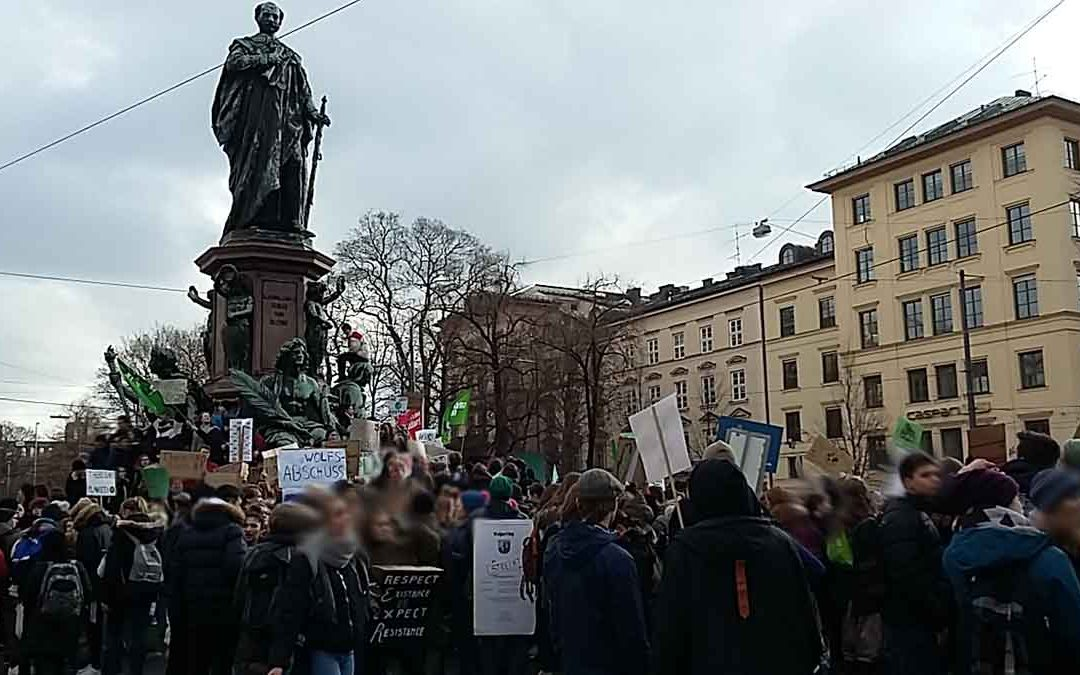 heute in München – Demo Friday for Future