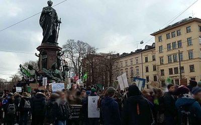 heute in München – Demo Friday for Future