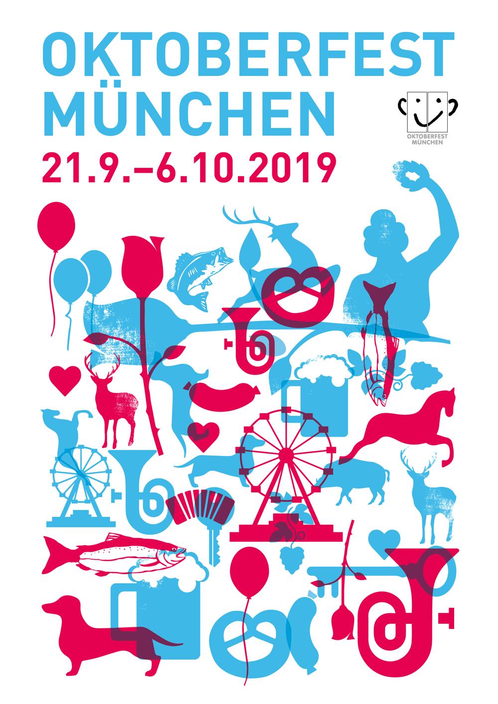 Oktoberfest 2019 – 21. September bis 06. Oktober 2019
