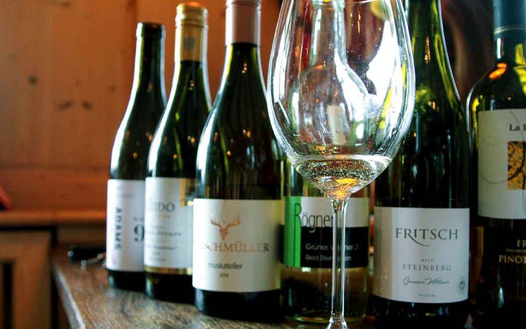 neue Weine im Restaurant Seehof Herrsching